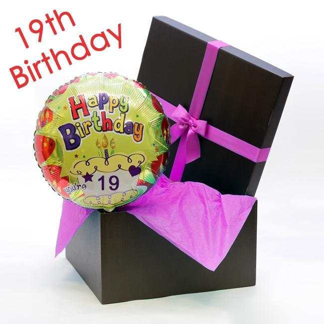 Happy 19th Birthday Balloon