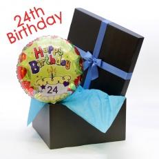 happy 24th birthday helium balloon birthday balloons floric