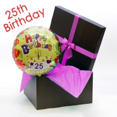 Happy 25th Birthday Balloon