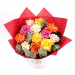 Valentines Mixed Roses