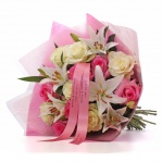 Luxury Lily & Rose Bouquet