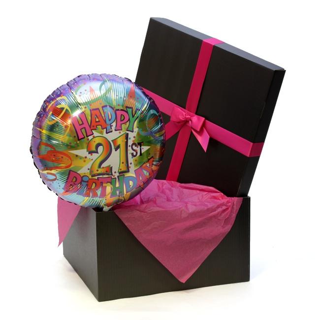 Happy Birthday Age Balloon Pink