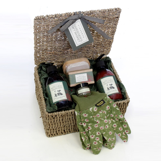Perfect ... Garden Design With Gardeners Gift Basket Pampering Gifts Floric With  Rock Landscape From Floric.co