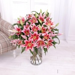 Pink Oriental Lilies (20 Stems)