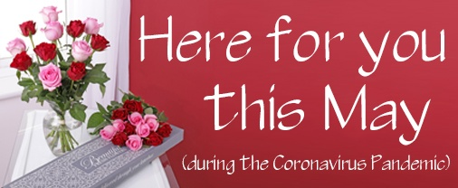 Flowers Delivered during Coronavirus Pandemic