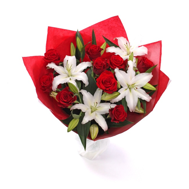 Image result for valentines day lily rose