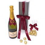 Brut Cava & Chocolate Truffles Gift Box