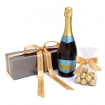 Prosecco Wine & Chocolate Truffles Gift Box