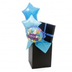 Happy Birthday 'Meteor' Balloon Bouquet