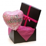 Just Married Gift Balloon