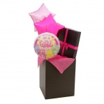 Baby Girl Gift Balloon Bouquet