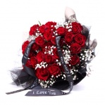 Double Dozen 'I Love You' Roses
