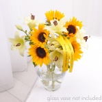 Sunflower & Lily Bouquet