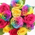 Luxury Rainbow Roses