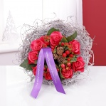 Rose & Berry Posy