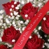 24 personalised Red Roses & Prosecco